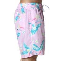 Bermuda Shorts Insane Water Tropical Candy Rosa/Azul