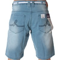 Bermuda Hocks Heroi Jeans Claro