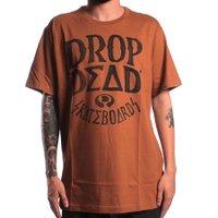 Camiseta Drop Dead Shapie Pen Caqui Escuro