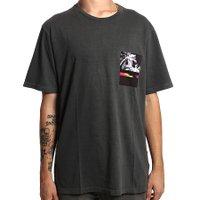 Camiseta Billabong Black Paradise Cinza Escuro