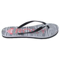 Chinelo Roxy Tahiti Tropical Preto/Branco