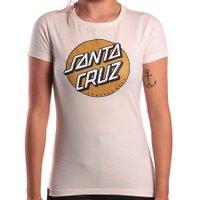 Camiseta Santa Cruz Classic Dot Bege Claro