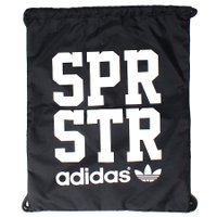 Mochila Adidas Gymsack SPR STR Preto