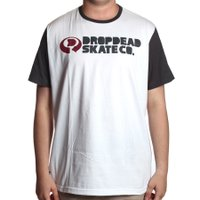 Camiseta Dropdead Big Skate Co Branco