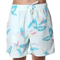 Bermuda Shorts Insane Water Tropical Candy Azul Claro