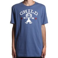 Camiseta Child Icon Azul Indigo
