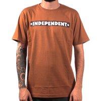 Camiseta Independent Bar Logo Caqui