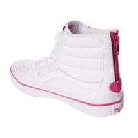 Tênis Vans Sk8 Hi Slim Zip Valentines Branco/Rosa
