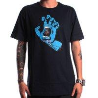 Camiseta Santa Cruz Screaming Hand Azul Marinho