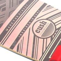 Longboard W7 Cush Seed Tail Cinza/Vermelho