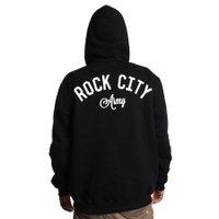 Moletom Rock City Army Zipper Preto