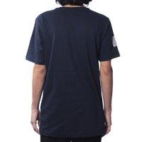 Camiseta Insane Water Logo Script Azul Marinho