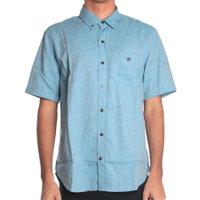 Camisa Vissla Basic M/C Azul Claro