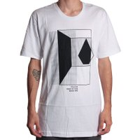 Camiseta Volcom Long Fit Inside Branco