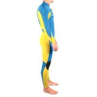 Long John Quiksilver Ignite Hydrolock 2.2 Azul/Amarelo