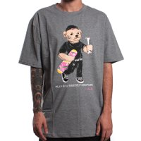 Camiseta Grizzly Plan B Cobra Cole Bearss Cinza