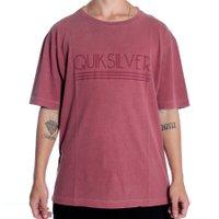 Camiseta Quiksilver Shadow Bordo