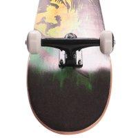 Skate Montado Iniciante Laranja/Preto