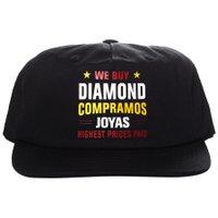 Boné Diamond Jewelers Row Preto