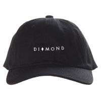 Boné Diamond Marquise Dad Hat Sports Preto
