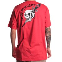 Camiseta Independent Dressen Dagger Vermelho
