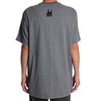 Camiseta Rock City Mind Free Mini Nac. Chumbo Mescla