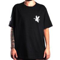 Camiseta Rock City Marchioro Aguia Nac. Preto