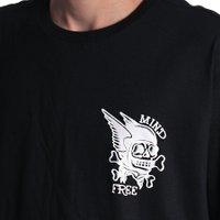 Camiseta Rock City Mind Free Mini Nac. Preto