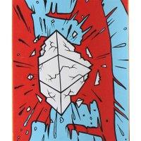 Shape Change Crash Diamond 7.75 Vermelho/Azul