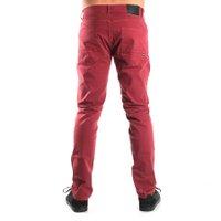 Calça Quiksilver Five Pockets Color Vermelho