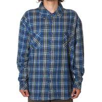 Camisa Child Flannel Kadosh Azul/Xadrez