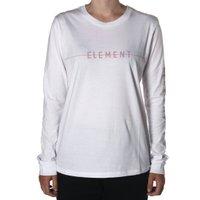 Camiseta Element Line Manga Longa Branco