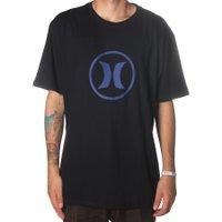 Camiseta Hurley Circle Icon Oversize Preto