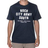 Camiseta Rock City Army South Azul Marinho