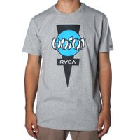 Camiseta Rvca Hosoi Cinza Mescla