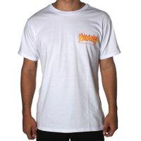 Camiseta Thrasher Flame Bottom Branco