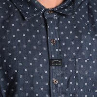 Camisa Globe Manga Longa Robertson Azul