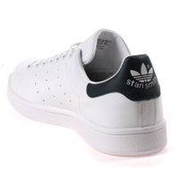 Tênis Adidas Stan Smith Branco/Azul Marinho