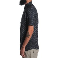 Camisa Rip Curl The Axis Azul Marinho