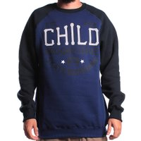 Moletom Child Derby Azul/Preto