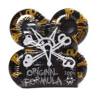 Roda Bones Original Formula Preto/Amarelo