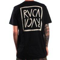 Camiseta Rvca Flip Flop Box Preto