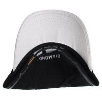 Boné Diamond Micro Un Polo Dad Hat Preto/Branco