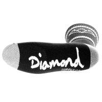 Meia Diamond Rock Sport Preto/Mescla