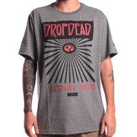 Camiseta Drop Dead Local Shops Cinza Mescla Escuro