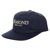 Boné Diamond Mayfair Unstructured Azul Marinho
