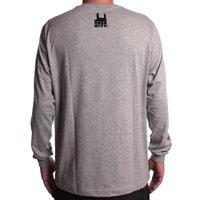 Camiseta Rock City M/L Marchioro FLor Cinza Mescla
