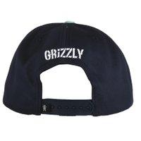 Bone Grizzly Eclipse Tie Dye Azul Marinho
