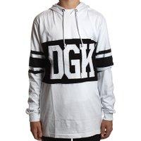 Moletom DGK Arena Long Sleeve Branco