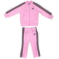 Conjunto Adidas Superstar INF Lilás